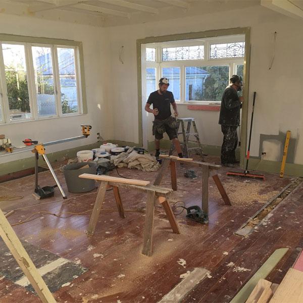 Straightline Builders bannerman rd before photo