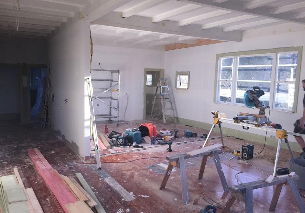 Straightline Builders bannermand rd before