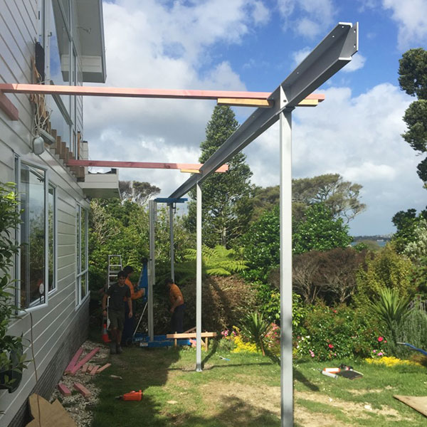 Straightline Builders northcote before photo